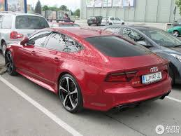 pink audi audi rs7 sportback 2015 2 may 2016 autogespot