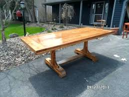 how to make a rustic table build a kitchen table dining to build a dining room table with