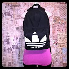 adidas classic trefoil backpack light pink adidas handbags originals bp clas trefoil backpack poshmark