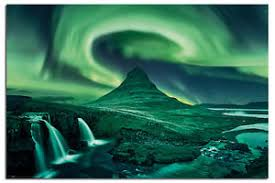 aurora borealis northern lights aurora borealis northern lights poster new maxi size 36 x 24 inch