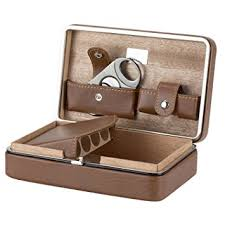 cigar gift set xifei tm leather cedar wood cigar humidors portable