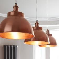 Dome Pendant Light Dome Lampshade Vintage Brass Bar Restaurant Pendant Copper