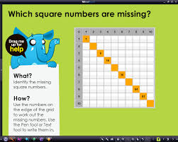 space safari number patterns square numbers rm easilearn