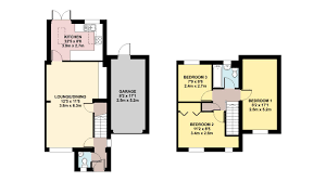 colour floor plan ben williams home design and architectural