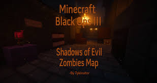 How To Install Custom Zombie Maps Waw Minecraft Call Of Duty Black Ops Iii Shadows Of Evil Adventure