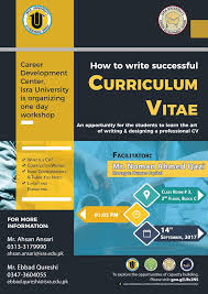 How To Write A Successful Resume By Muhammad Zubair by Office Of Research Innovation U0026 Commercialization Oric Isra