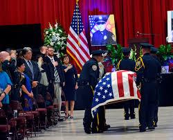 Cop Flag Cop U0027s Cop U0027 Is Honored Albuquerque Journal