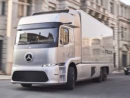 mercedes work truck mercedes s electric truck may be the future of commercial
