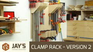 clamp rack u2013 version 2 jays custom creations