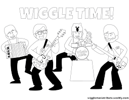wiggles coloring pages paginone biz