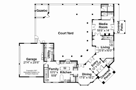 house plans with courtyards home plans with courtyard in center awesome crafty inspiration