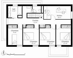 plan de maison a etage 5 chambres plan maison 90m2 3 chambres awesome maison 5 chambres avec etage hi