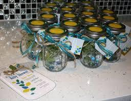 jar baby shower ideas leafs vintage jars baby shower s baby shower