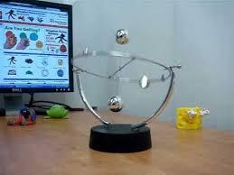 Swinging Desk Balls Space Balls Perpetual Motion Youtube