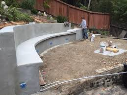 Terraced Retaining Wall Ideas by Infinity Construction Retaining Walls