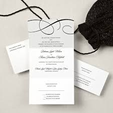 seal and send invitations scroll seal and send wedding invitation