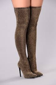 s knee boots on sale to sparkle the knee boot gold