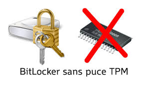 windows bitlocker sans puce tpm youtube