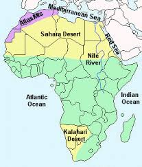 africa continent map facts and information about the continent of africa