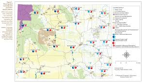 Wy Map Wyoming Open Spaces Initiative Ruckelshaus Institute Haub
