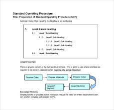 sample sop template 20 free documents in word pdf excel