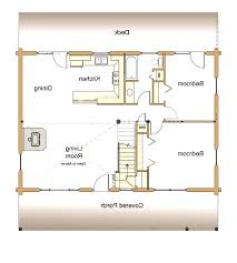 tiny house plans suitable for a family of 4 small cottage floor