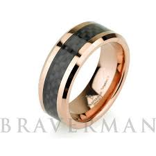 gold wedding band mens gold wedding band 14k mens tungsten from bravermanoren on
