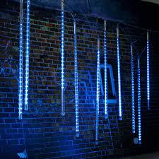 10 x 50cm led meteor shower lights waterproof string