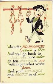 nothing but limericks when the thanksgiving season is