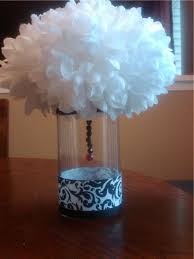 black and white centerpieces shontreal s the entrance table setting with the couples 39