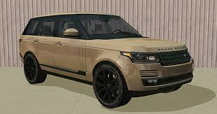 land rover brown mod the sims f p u0027s 2016 land rover range rover