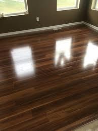 Water Spilled On Laminate Wood Floor Integrity Flooring Gr