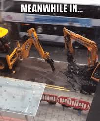 Bulldozer Meme - meanwhile in 17 hilarious around the world moments memes pics meme