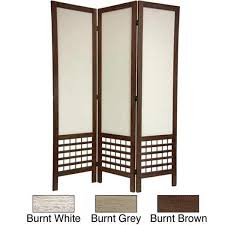 Chinese Room Dividers by Handmade Wood Fabric Open Lattice 5 5 Foot Room Divider China