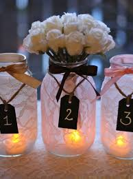 jar decorations for weddings things brides jar wedding reception decor centerpieces