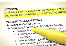 resume objectives writing tips general resume objective exles and writing tips with inssite