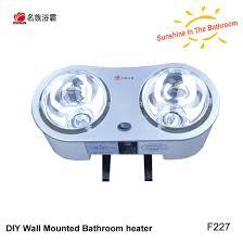 Bathroom Safe Heater by 2 Heat Lamp Angle Adjustable Waterproof Wall Mounted Bathroom Heat
