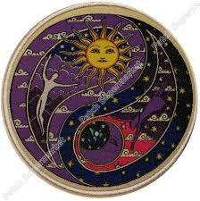3 75 artist morris celestial sun moon yin yang hippie rock