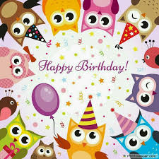 Owl Birthday Meme - 8 best birthday owls images on pinterest congratulations card