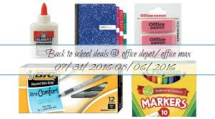 Office Depot Back To Penny Deals Office Depot Office Max 07 31 2016
