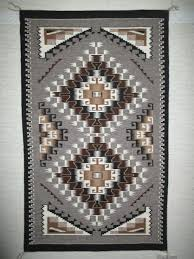 two grey hills rug by marie begay medium size navajo rug two