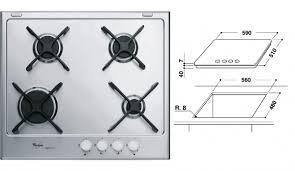 whirpool piani cottura piano cottura whirlpool gma 6414 ixl 60cm piani cottura