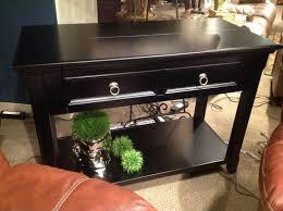 Greensburg Bedroom Furniture By Ashley Ashley T811 Greensburg Sofa Table W Desk