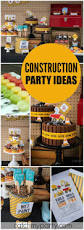 290 best construction party ideas images on pinterest birthday
