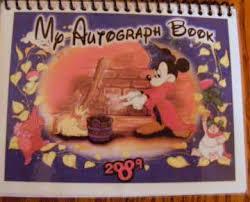 personalized autograph books disney customized autograph books