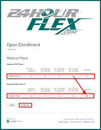cobra open enrollment guide u2013 24hourflex