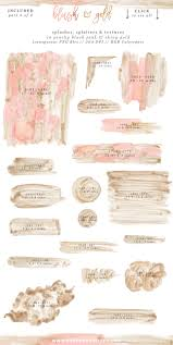 pink and gold wedding invitations blush pink and gold watercolor textures for wedding invitations more