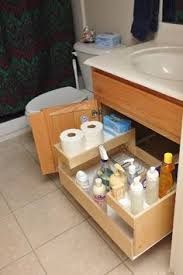How To Organize Under Your Bathroom Sink - how to give people an impression that your kitchen is larger