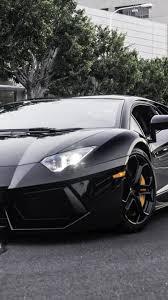 Black Lamborghini Aventador - black lamborghini aventador best htc one wallpapers