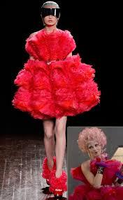 Effie Halloween Costume Hunger Games Fashion Effie Trinket Dresses Alexander Mcqueen